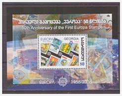0922 Georgia 2006 50 Year Europa Europe CEPT S/S MNH - 2006