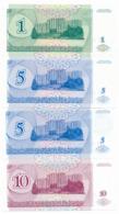 1993 // 94 // 96 // TRANSNISTRIE // 1 & 2x5 & 10 & 50 & 100 & 2x10 000 & 2x50 000 & 2x100 000 Roubles // UNC - Moldavie