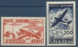 """Fezzan Aerien YT 4 & 5 """" Poste Aerienne """" 1948 Neuf** - Unclassified"""