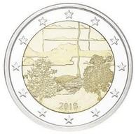 2 € FINLANDE 2018 SAUNA - Finland