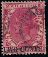 Mauritius  2Cents Aufdruck - Mauritius (...-1967)