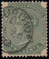 Mauritius  2Cents Gestempelt - Mauritius (...-1967)