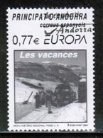 CEPT 2004 AD ES MI 312 ANDORRA SPAIN USED - 2004