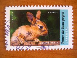 France  Obl Série Animaux N° 1387 Cachet Rond Noir - France