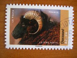 France  Obl Série Animaux N° 1386 Cachet Rond Noir - France