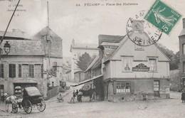 76 Fecamp. Place Des Hallettes - Fécamp