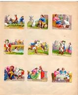 Cahier D'enfant Plein De Presque 100 Découpis, Dont 7 Series, Contes De Fées, Histoires - Enfants