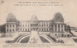 SCEY-SUR-SAONE  -   HAUTE SAONE  70 -  CPA   - LE CHATEAU AVANT INCENDIE  DE 1795 - Altri Comuni