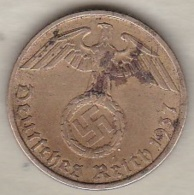 5 Reichspfennig 1937 D (MUNICH) Bronze-aluminium - 5 Reichspfennig