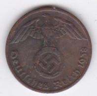 1 Reichspfennig 1937 F (STUTGART) Bronze - [ 4] 1933-1945 : Troisième Reich