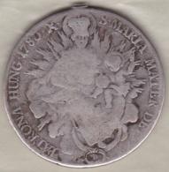Hungary  1 Thaler 1783 B •X• Joseph II , En Argent ,   KM# 395.1 - Hongrie