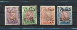 Royaume De La Perse  PERSIAN Kingdom - IRAN  1912/4 Yvert  343/6 MH X - Iran