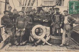 Cherbourg  Granville 50  CHAUSEY  Mission Charcot Pourquoi Pas Equipage Marins De La Manche  A Bord, Et Marin Marie - Cherbourg