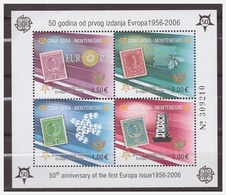 0925 Montenegro 2016 50 Year Europa Europe CEPT S/S MNH - 2006