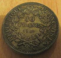 France - Monnaie 10 Francs 1967 En Argent - SUP+ - Joliment Patinée - France