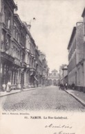 Namur La Rue Godefroid Circulée En 1903 - Namen