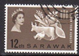 Malaya Sarawak 1963 Freedom From Hunger, Used, SG 203 - Sarawak (...-1963)