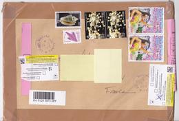 Polynésie Française / Tahiti - 1 Enveloppe / Timbrée En Janvier 2018 / Mahina / Pli Non Distribué - French Polynesia