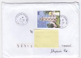 Polynésie Française / Rangiroa / Tiputa - 1 Enveloppe Timbrée En 2018 - French Polynesia