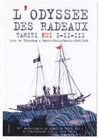 Polynésie Française / Tahiti - Carte Postale Prétimbrée à Poster 2018 Entier - L'odyssée Des Radeaux Tahiti Nui I-II-III - French Polynesia
