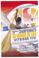 Polynésie Française / Tahiti - Carte Postale Prétimbrée à Poster 2018 Entier - 18° Championnat Du Monde De Vaa'a - French Polynesia