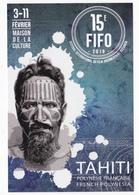 Polynésie Française / Tahiti - Carte Postale Prétimbrée à Poster 2018 Entier - 15ème FIFO - Polinesia Francesa