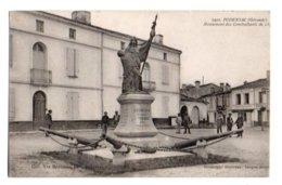 (33) 505, Podensac, Gautreau 1922, Monument Des Combattants De 1871 - Francia