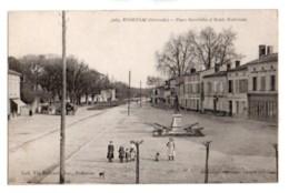 (33) 506, Podensac, Gautreau 3263, Place Gambetta Et Route Nationale - Francia