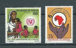 SENEGAL  Yvert  N° 357-360 ** - Sénégal (1960-...)