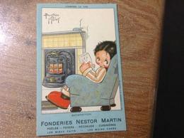 Carte Publicitaire Nestor Martin Béatrice Mallet - Publicité