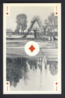 PLAYING CARD ~ 1 Of Diamonds - Two Views Of The Municipal Park - Playing Cards