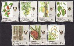 Malaysia Sarawak 1986 Agricultural Produce Set Of 7, MNH, SG 247/53 - Malaysia (1964-...)