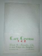 Servilleta,serviette .Café Central,Caminha.Portugal - Serviettes Publicitaires