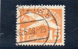 DANTZIG 1935 O - Danzig