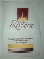 Servilleta,serviette .Pastelaria Riviera. Portugal - Serviettes Publicitaires