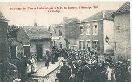 Bassange - Pélerinage Des Oeuvres Eucharistiques à N.-D. De Lourdes, à Bassenge 1906 - Le Cortège - Bassenge