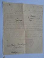 Réf: 59-10-52.            Document Allemand    NEUSS - Documents