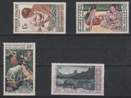 LOT 1516 POLYNESIE FRANCAISE PA N° 1-2-3-4 ** - Airmail