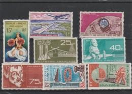 LOT 1517 POLYNESIE FRANCAISE PA N° 5-6-7-11-12-13-15-16 ** - Airmail