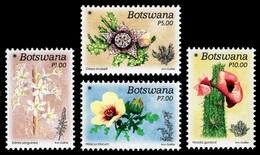 (292) Botswana  2017 / Christmas / Flowers / Fleurs / Blumen / Flora  ** / Mnh  Michel 1071-74 - Botswana (1966-...)