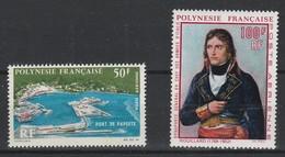 LOT 1518 POLYNESIE FRANCAISE PA N° 20 & 31 ** - Airmail