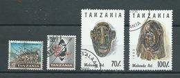 TANZANIE   Yvert  N° 4-5-1366-1367  Oblitérés - Tanzanie (1964-...)