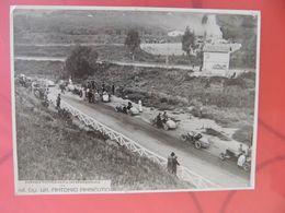 18 TARGA FLORIO 1928 PARTENZA BUGATTI 56 DIVO FOTO AGENZIA ORIGINALE 18X24 RRR - Automobili