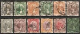 MALAYA - PERAK 1938 - 1941 VALUES TO 50c FINE USED Cat £43+ - Perak