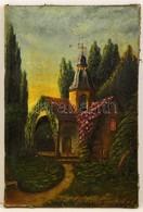 Olvashatalan Jelzéssel: Kápolna. Olaj, Vászon, 60×40 Cm - Altre Collezioni