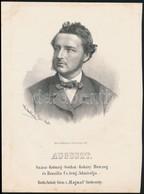 1867 Auguszt Százs-Koburg-Gothai-Koháry Herceg Brasilia Tengeri Admirálisának Kőnyomatos Portréja. Marastoni József Munk - Engravings