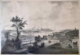 Cca 1850 Kiel. Litográfia, Papír, Metsző: W.Saxesen, Kiadó: Baerentzen, Kis Gyűrődéssel, üvegezett Keretben, 23 X 33,5 C - Engravings
