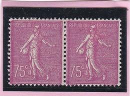 N°202  SEMEUSE LIGNEE NEUF X  AVEC CHARN.  - REF 24-24 - 1903-60 Sower - Ligned