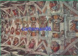 Vatican - Citta Del Vaticano - Cappella Sistino - Particolor Della Volta (Michelangelo) - Vatican