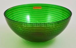 Nachtmann Golden Times Salátás/gyűmölcsös Tál Eredeti Dobozában D:25 Cm - Glass & Crystal